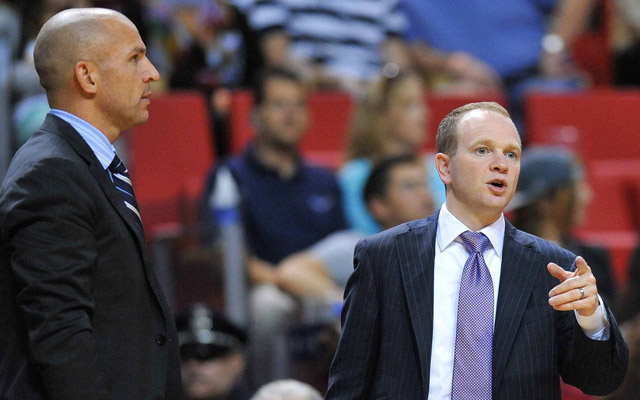 Lawrence Frank has been reassigned by the Nets.  (USATSI)