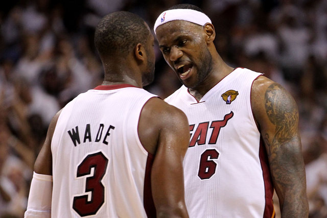Wade knew on flight with LeBron he was headed back to Cleveland