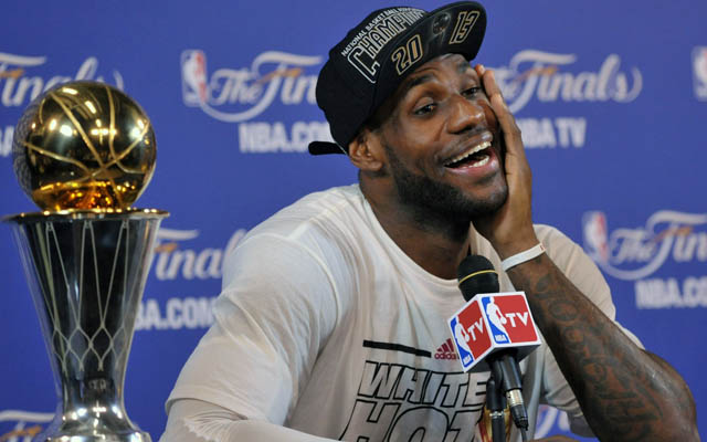 LeBron James could alter the NBA landscape again in 2014. (USATSI)