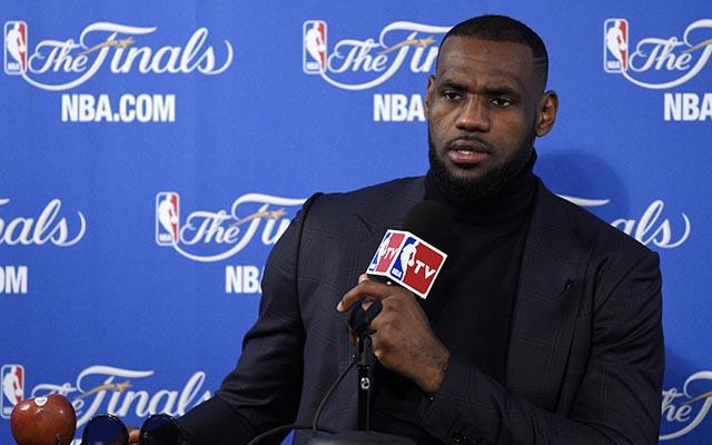 LeBron James: Warriors didn't let him have 40, he got 40