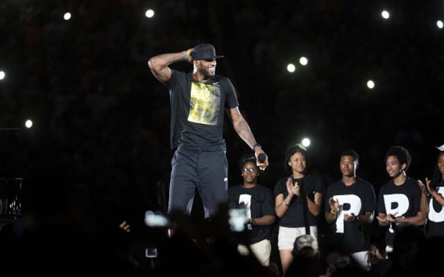Where will LeBron James begin his second tour with the Cavs?  (USATSI)