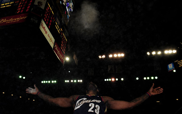 Could LeBron James' past become future?  (USATSI)