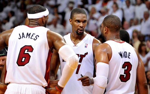 Chris Bosh could return to Miami next year.   (USATSI)