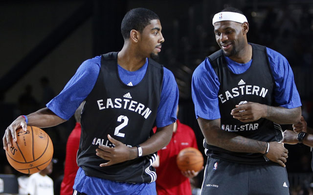 0d9192a6bf2 LeBron James   I believe Kyrie (Irving) can be the best point guard ...