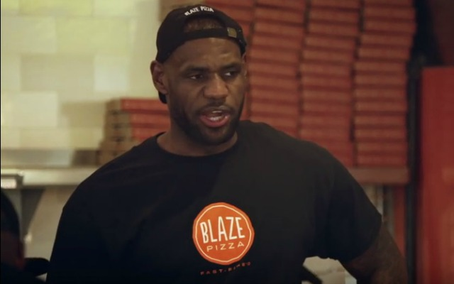 Watch LeBron James Work At Pizza Place & Get Mistaken For Dwyane Wade