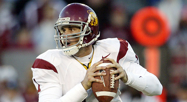 Matt Leinart and USC won the Rose Bowl and ended up No. 1 in the AP poll. (USATSI)
