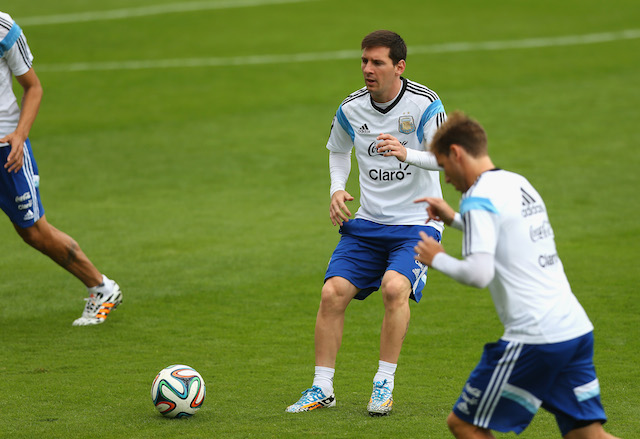 The 2014 World Cup could be a major statement opportunity for Lionel Messi. (Getty Images)