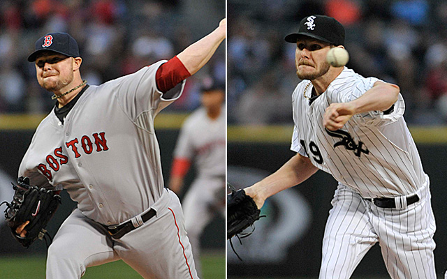 Jon Lester and Chris Sale were outstanding Thursday.