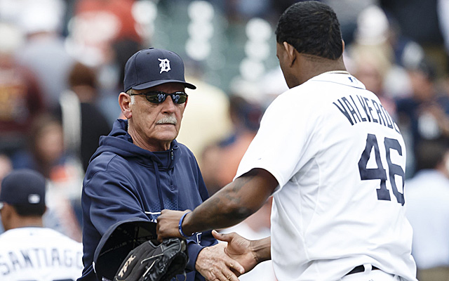 Jim Leyland and Jose Valverde are left answering closer controversy questions.
