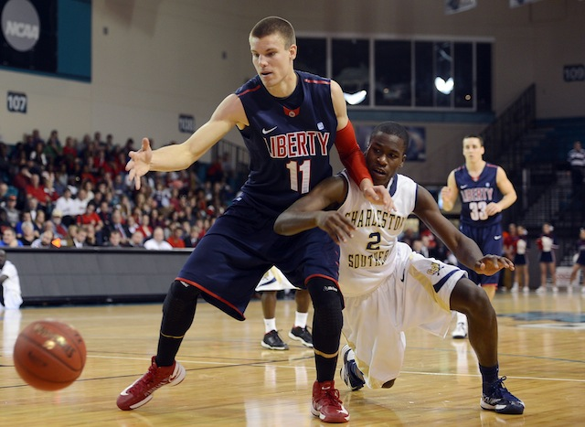 Liberty, despite having 20 losses, is heading to the NCAA tournament. (Getty Images)