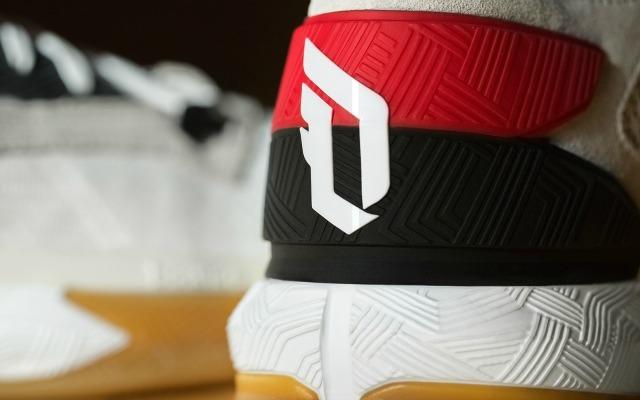 Lillard's logo on the heel of the D Lillard 2.