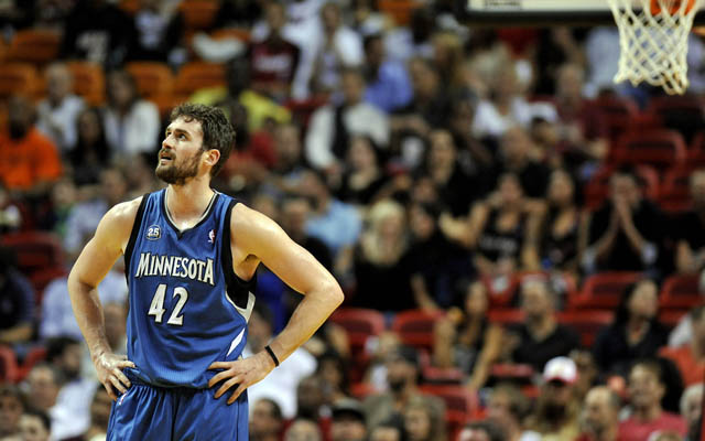 What team will have Kevin Love on Friday?  (USATSI)