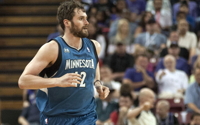 Kevin Love reportedly prefers the Warriors to the Rockets. (USATSI)