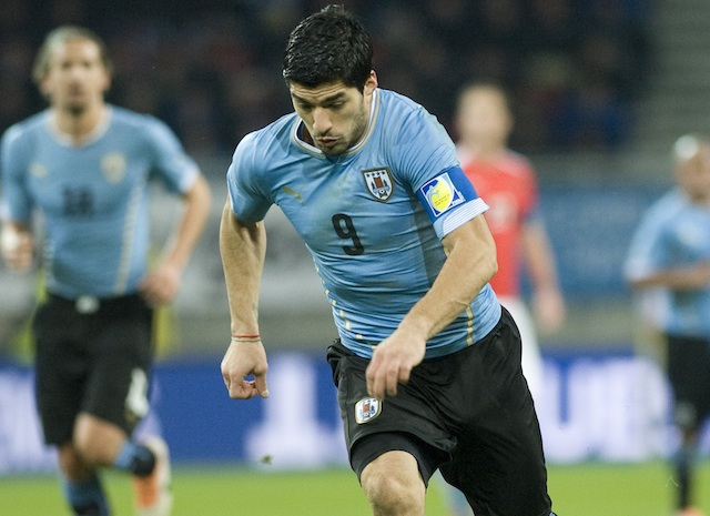 Uruguay needs Luis Suarez to be in top form in order to advance deep in the World Cup. (Getty Images)