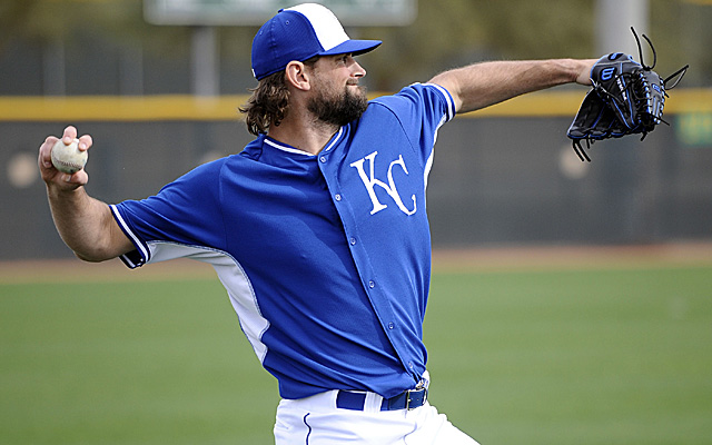 Luke Hochevar out until at least May with sprained UCL