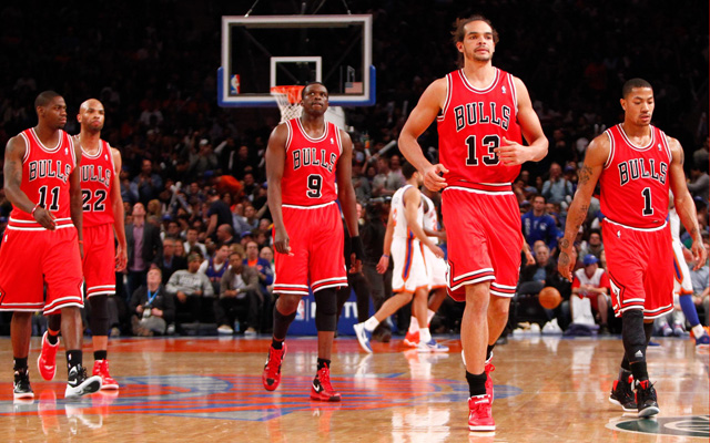 Luol Deng was traded Monday. What's next for Chicago? (USATSI)
