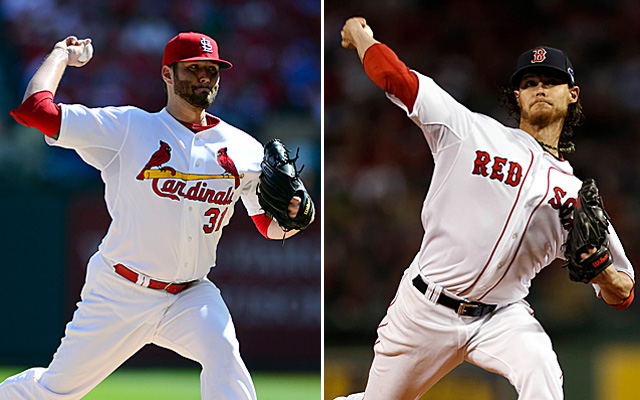 It's Lance Lynn vs. Clay Buchholz for Game 4.