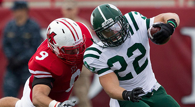Ohio's Beau Blankenship is back after rushing for 1,604 yards and 15 TDs. (USATSI)