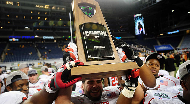 Northern Illinois won the MAC last season and made it to the Orange Bowl. (USATSI)