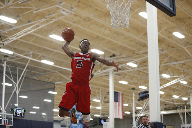 Malik Monk dropped 40 points in one game at the Peach Jam. (Jon Lopez/Nike EYB)