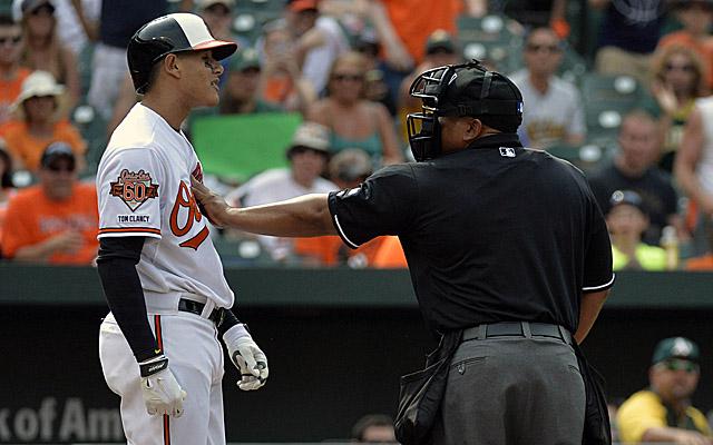 Manny Machado has received a five-game suspension.