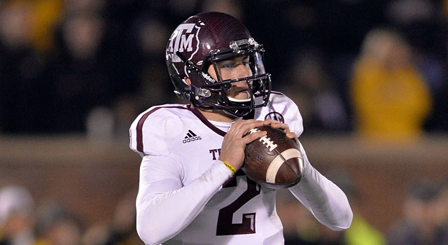 One day we may actually call him Johnny Manziel, NCAA pioneer. (USATSI)