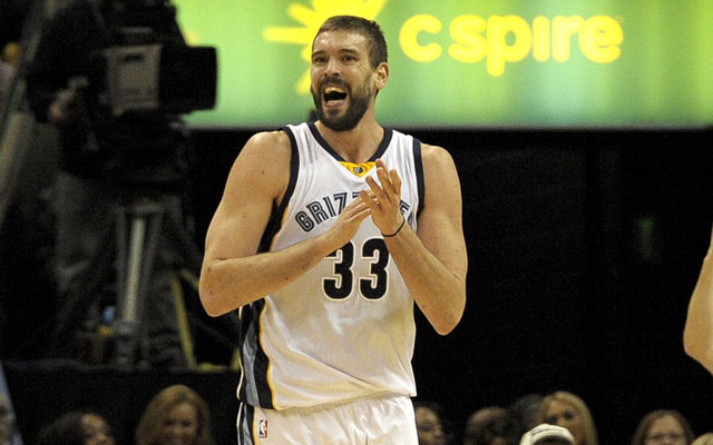 Marc Gasol has to be pretty happy with his options. (USATSI)