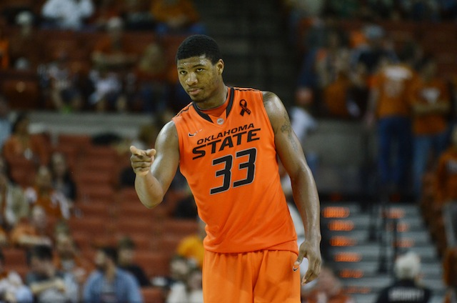 Look who's back at No. 1: Oklahoma State guard Marcus Smart's stellar play brings him to the top spot. (USATSI)