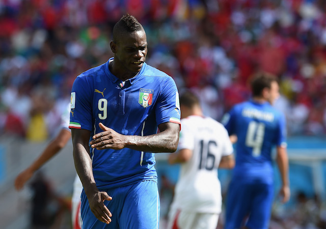 Mario Balotelli will be the X-factor for Italy against Uruguay. (Getty Images)