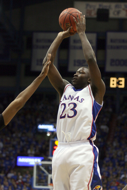 Mario Little had a career night as KU routed arch-rival Missouri in Allen Fieldhouse