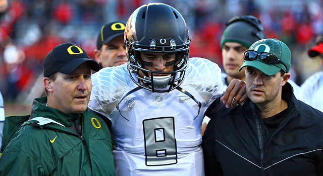 Marcus Mariota has his own insurance policy worth an undisclosed value. (USATSI)