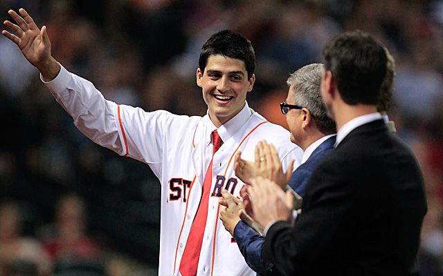 The Astros' Mark Appel has already taken the next step toward Houston. (USATSI)