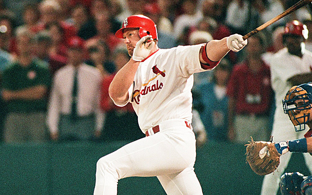 Mark McGwire was one of the best home run hitters ever.