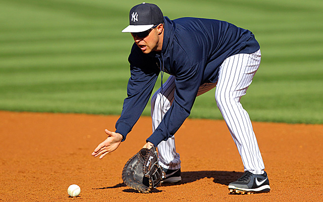 Will Mark Teixeira being doing this for the Yankees late next week?