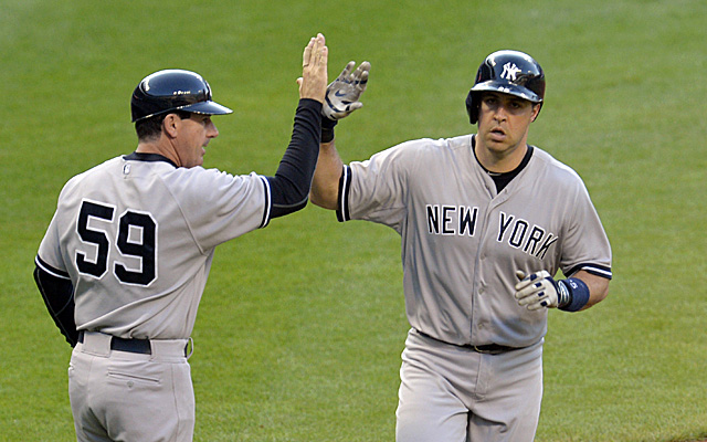 Mark Teixeira will be out for at least a few days.