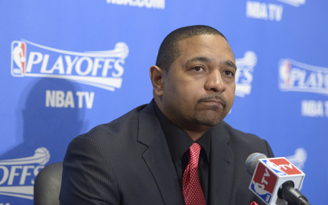 Mark Jackson is on the hot seat with the Warriors.   (USATSI)