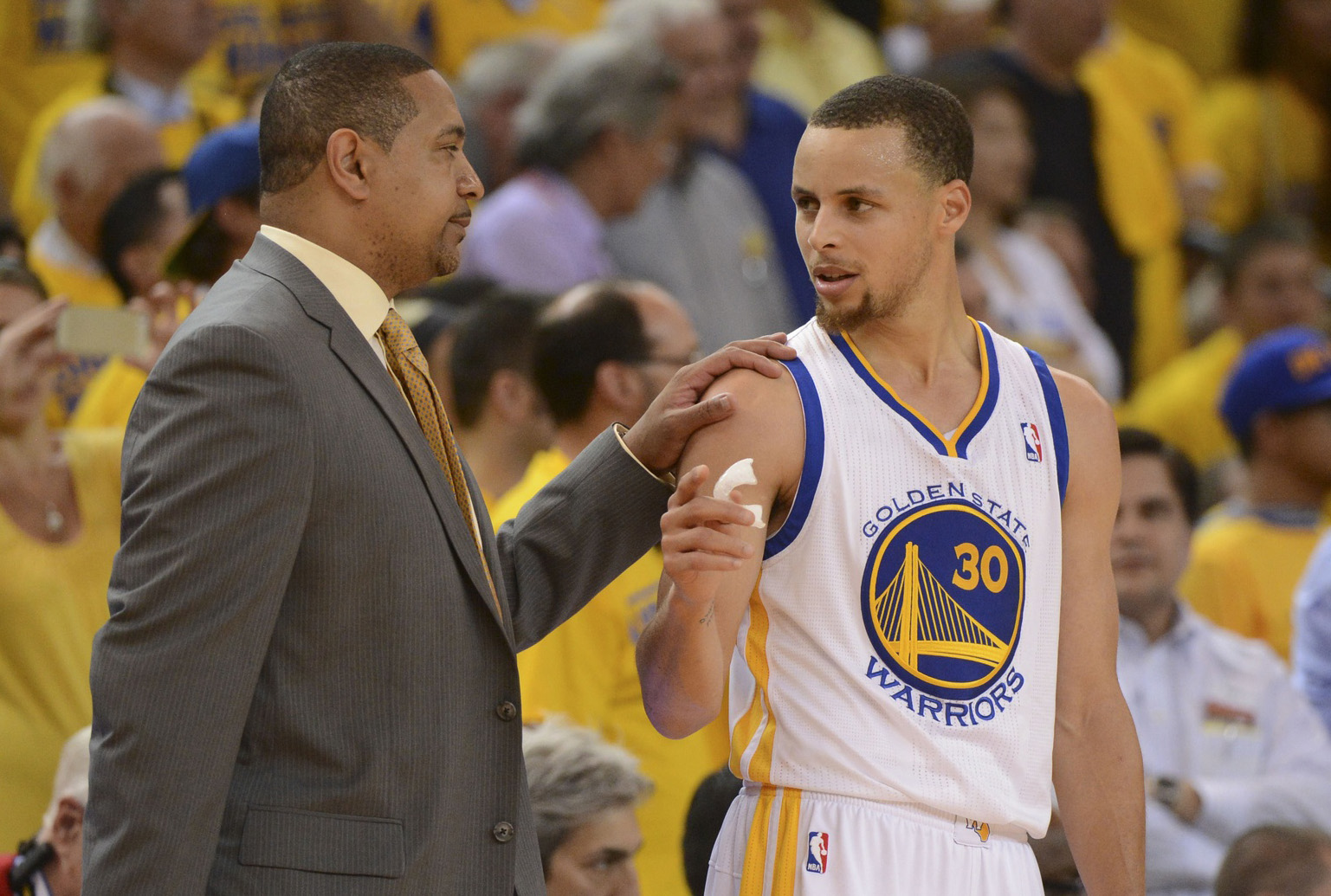 Mark Jackson's fate hasn't been decided, Joe Lacob says.  (USATSI)