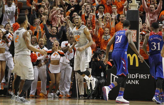 Oklahoma State came close to punching its ticket with a huge win over Kansas. (USATSI)