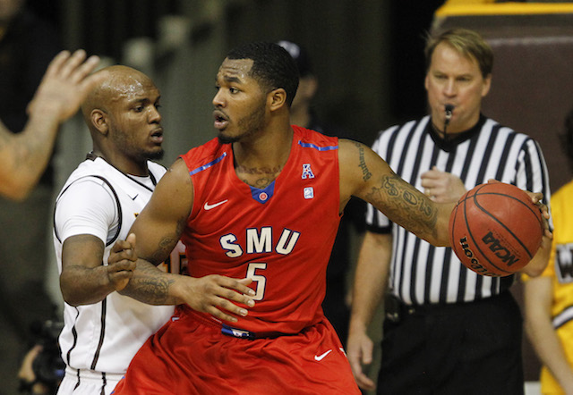 SMU big man Markus Kennedy is averaging 16 points and seven rebounds in the last two games. (USATSI)