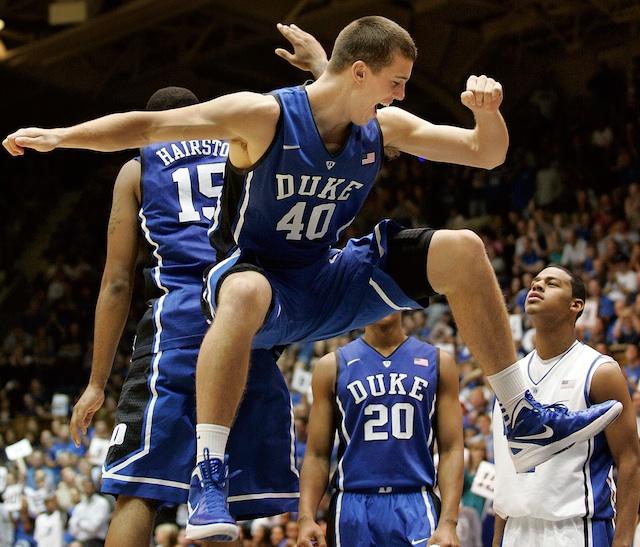 Given Duke's lack of inside depth, Marshall Plumlee needs to come back healthy next season. (USATSI)