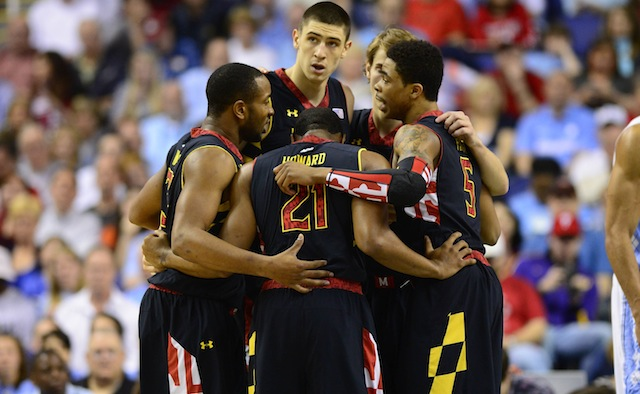 Maryland's loss to North Carolina on Saturday likely sends the Terps to the NIT. (USATSI)