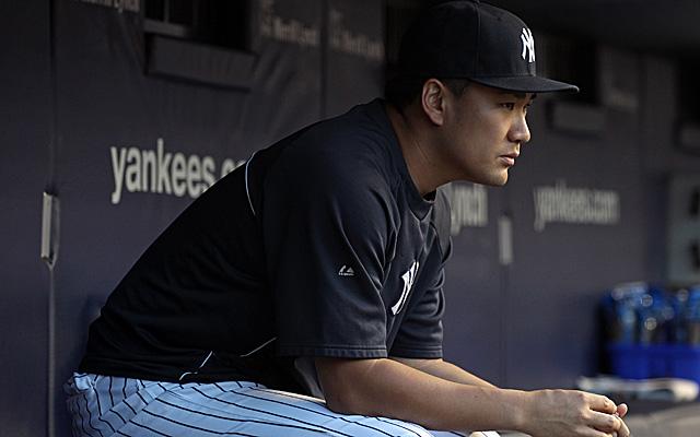 Masahiro Tanaka has had a setback in his rehab.