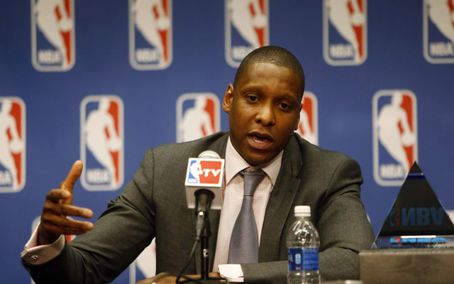 Masai Ujiri is reshaping the Raptors.  (USATSI)