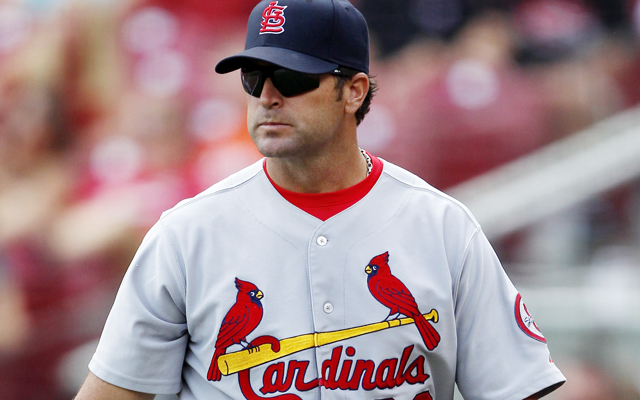 Mike Matheny's contract as St. Louis manager has been extended.