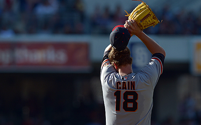 Is Matt Cain totally healthy?
