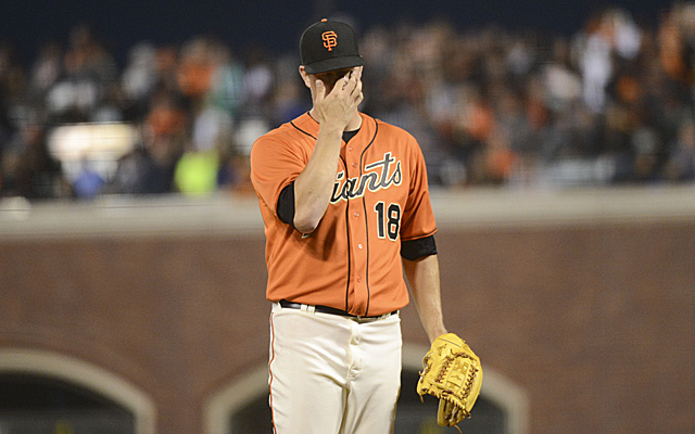 Matt Cain is going to visit with Dr. James Andrews about his elbow injury.