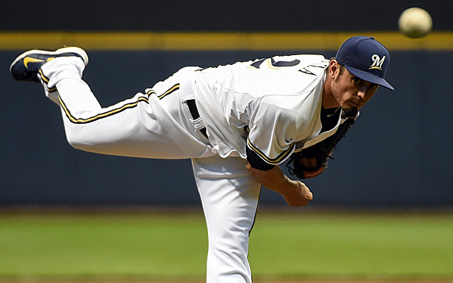 Matt Garza has gained a win and gotten in some good digs against his former team.