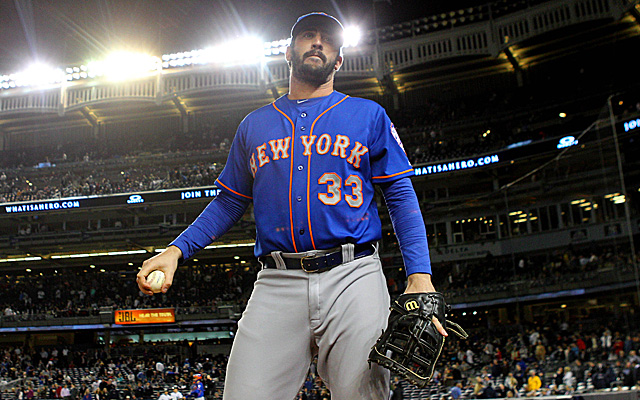 Matt Harvey really wants to get back on that mound this season.
