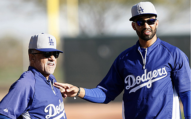 Matt Kemp is making slow, but steady, progress.