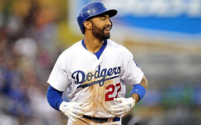 Matt Kemp handled his name being brought into the Donald Sterling mess very well.